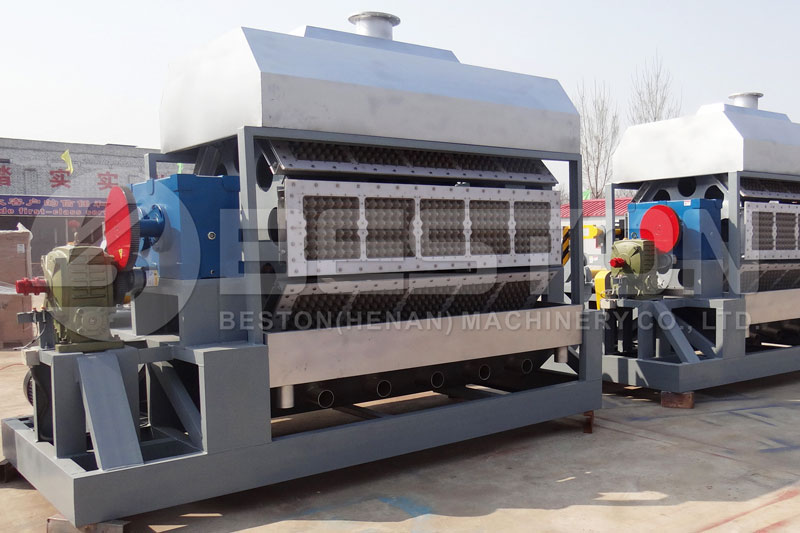 BTF-5-8 Beston Pulp Egg Tray Machine for Sale