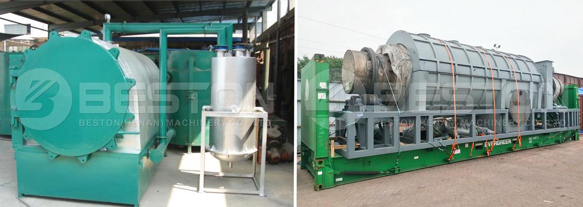 Bambu Kömür Makinesi