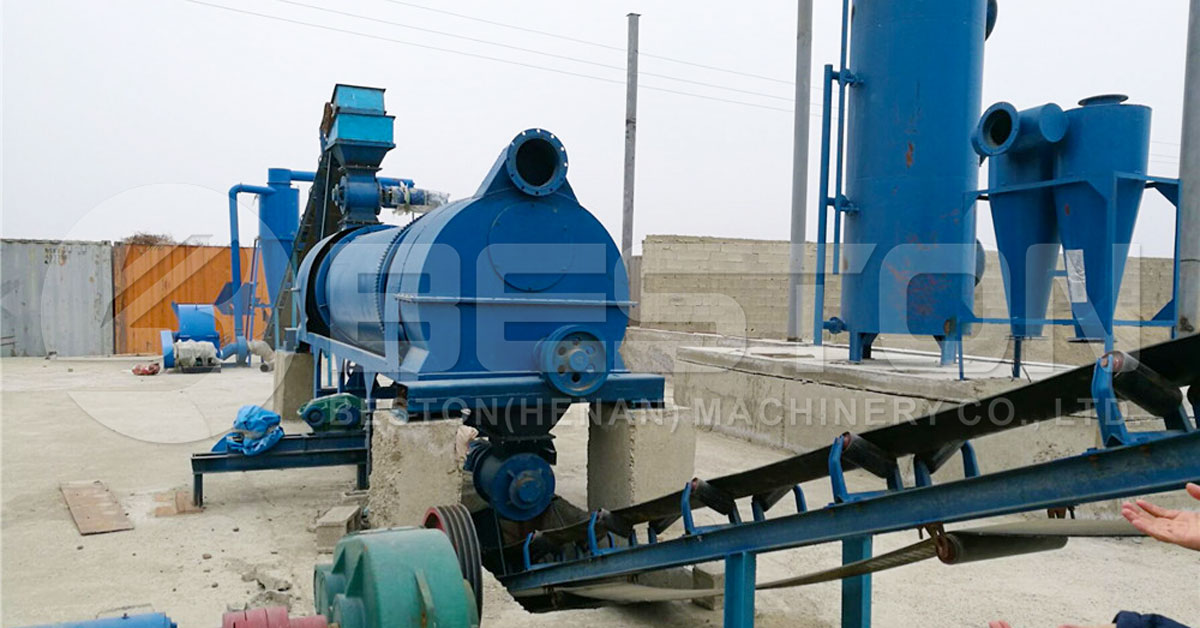 Bamboo Charcoal Manufacturing Machine