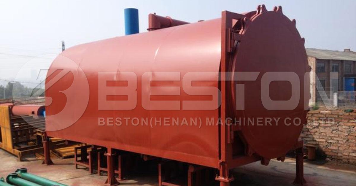 Beston Biochar Machine with Batch Working Method
