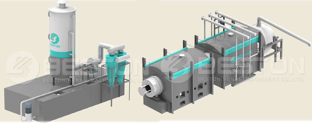 Beston Dedusting System and Gas Recycling System