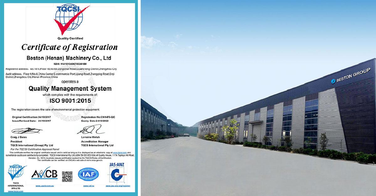 Beston Group ISO