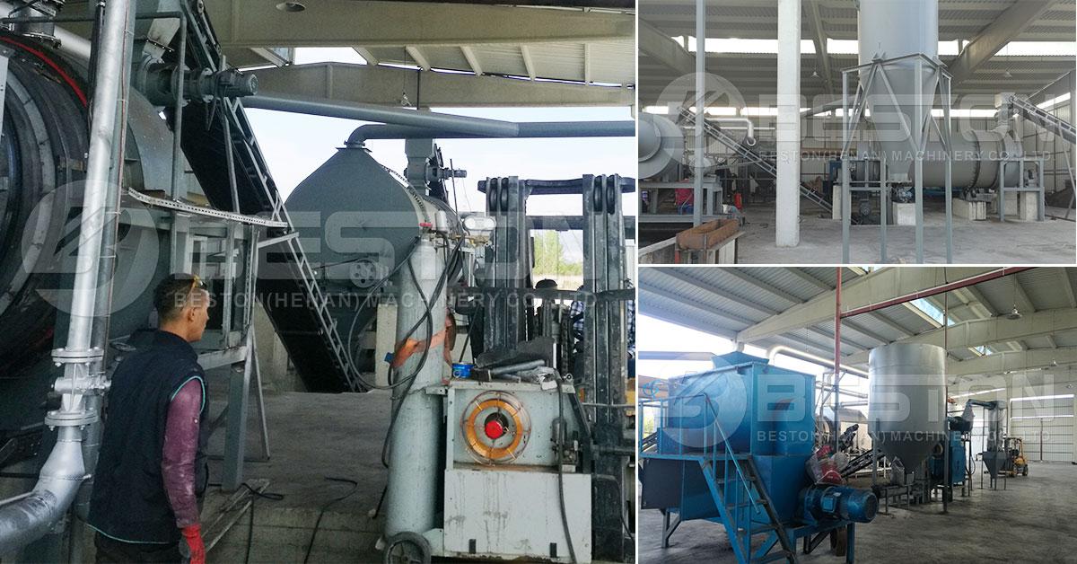 Beston Project Biochar reactor est in Turcia