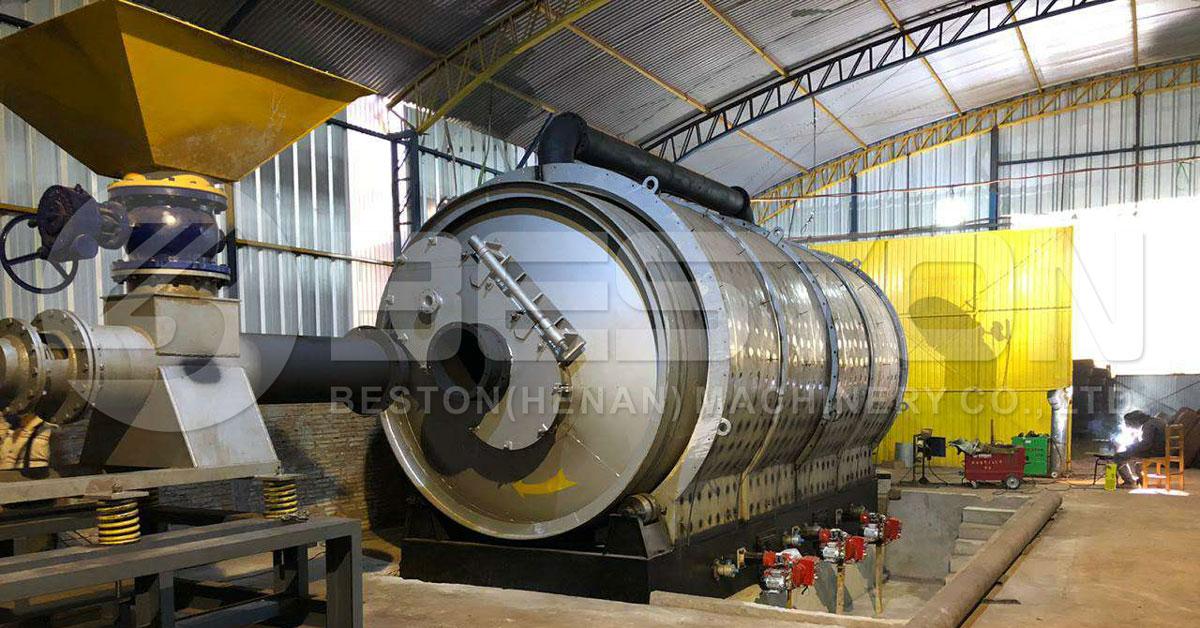 Beston مصنع التحلل الحراري للإطارات في باراغواي
