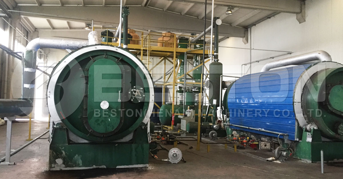 Beston Tyre to Oil Plant with Environment-friendly Design