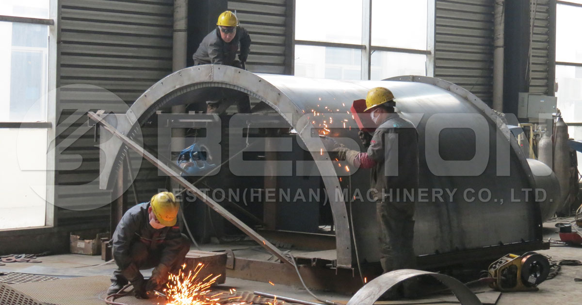 Casing of Tire Pyrolysis Plant