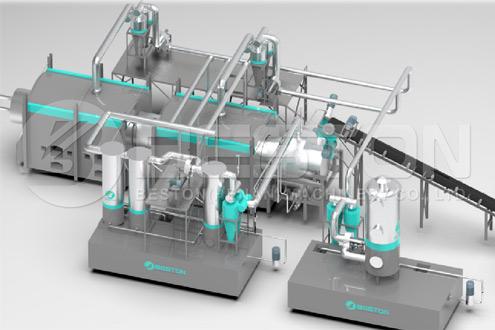Máquina de Fabricação de Carvão Vegetal com Patente