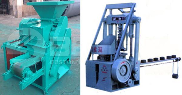 Aplicar Beston Máquina de Fazer Rolos de Carvão Vegetal