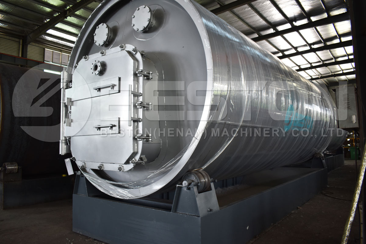 Full Sealed Pyrolysis Process of Small Scale Pyrolysis Equipment
