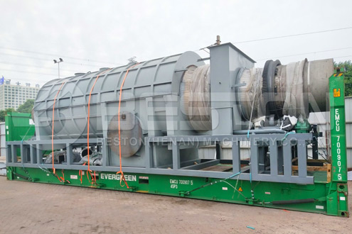 Fully Sealed Beston Charcoal Making Reactor