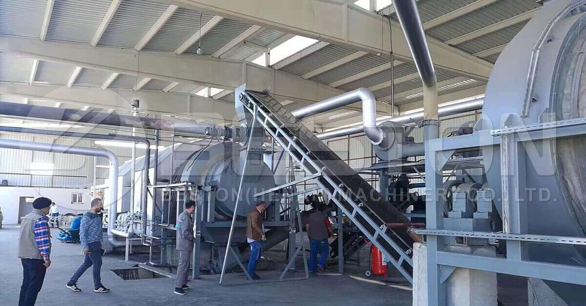 Beston Oferece Máquina para Fabricação de Carvão Vegetal de Alta Qualidade para Venda