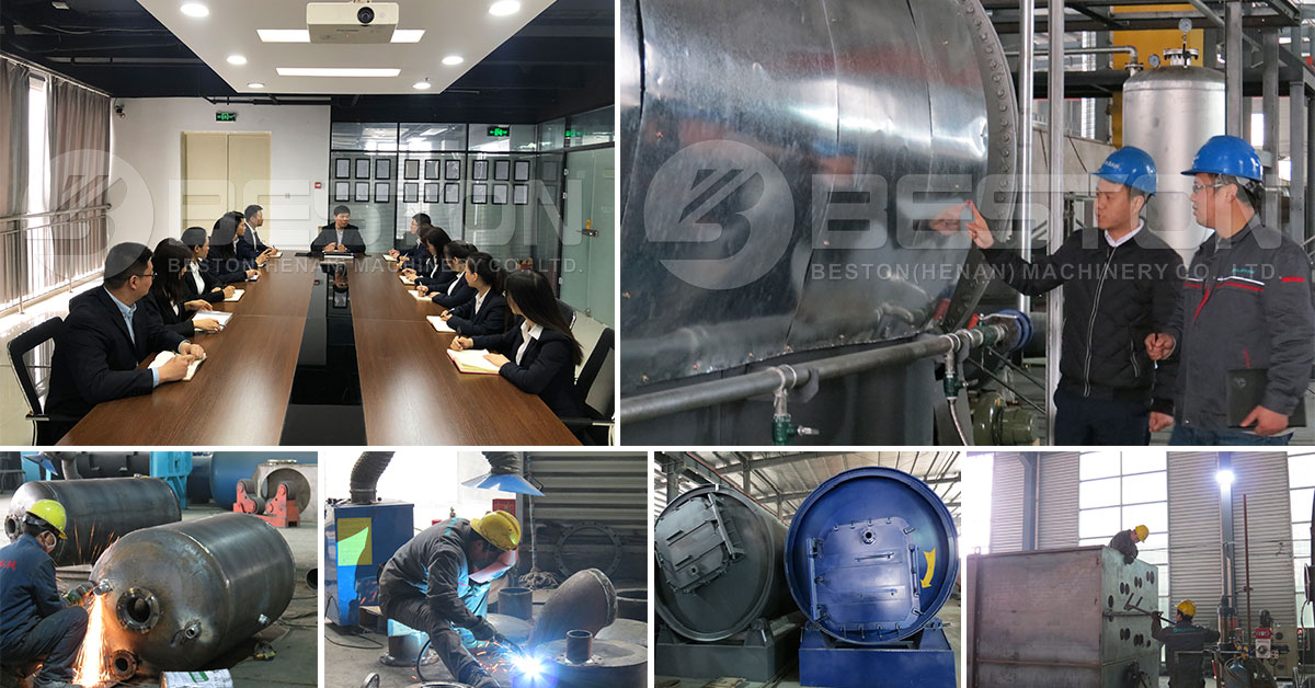 Leading Manufacturer of Waste Tire Pyrolysis Equipment