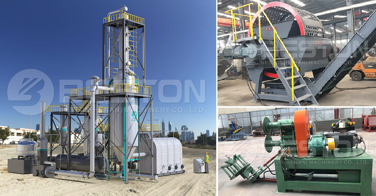 Oil Distallation Machine