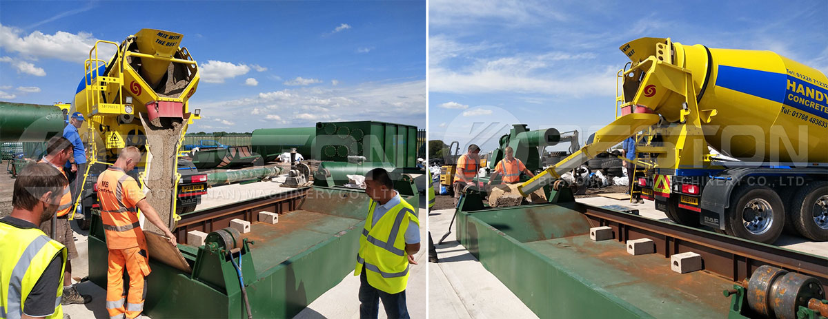Installatie van rubberen pyrolyse-apparatuur in het VK