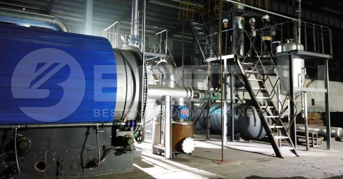 Tyre Pyrolysis Machine for Sale