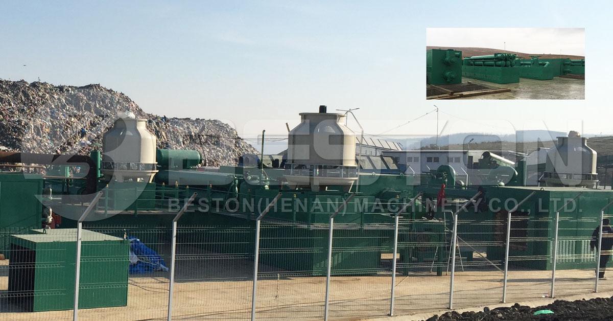 کارخانه تولید گاز در معرض اتلاف تایر