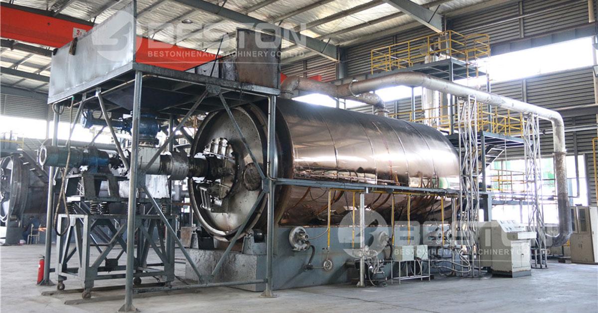 لاستیک زباله کارخانه تولید گاز پیرولیز