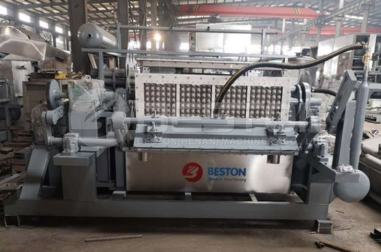Beston Paper Egg Tray Machine Was Ready Shipped to Peru
