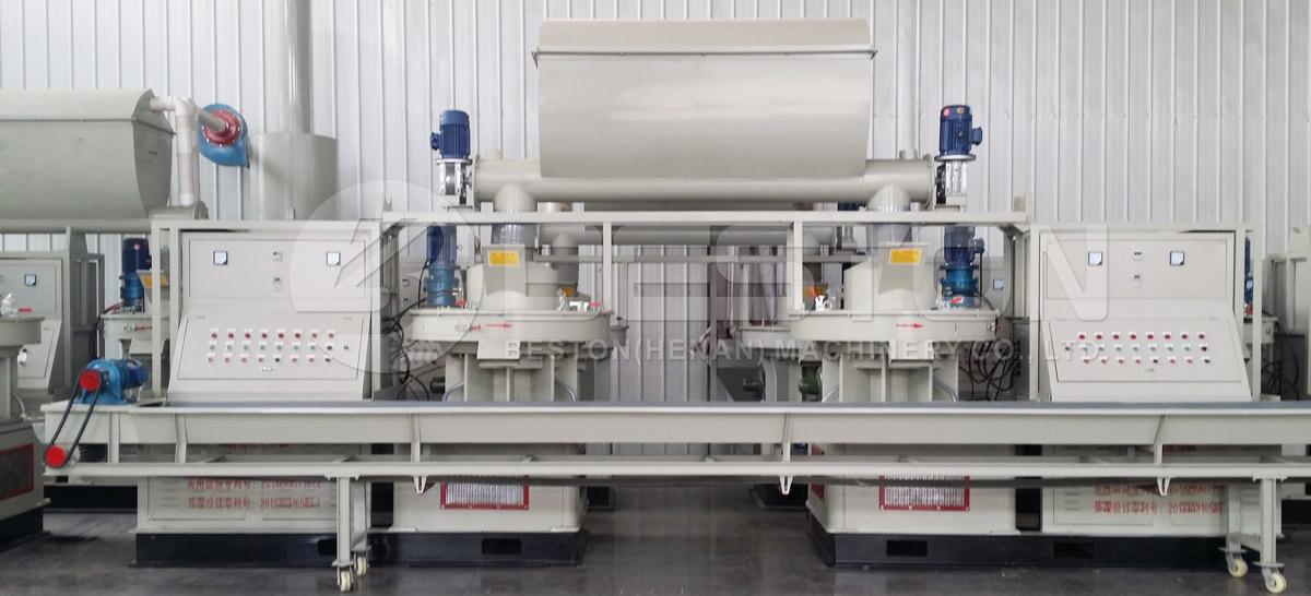 Beston Sawdust Pellet Machine with High Efficiency