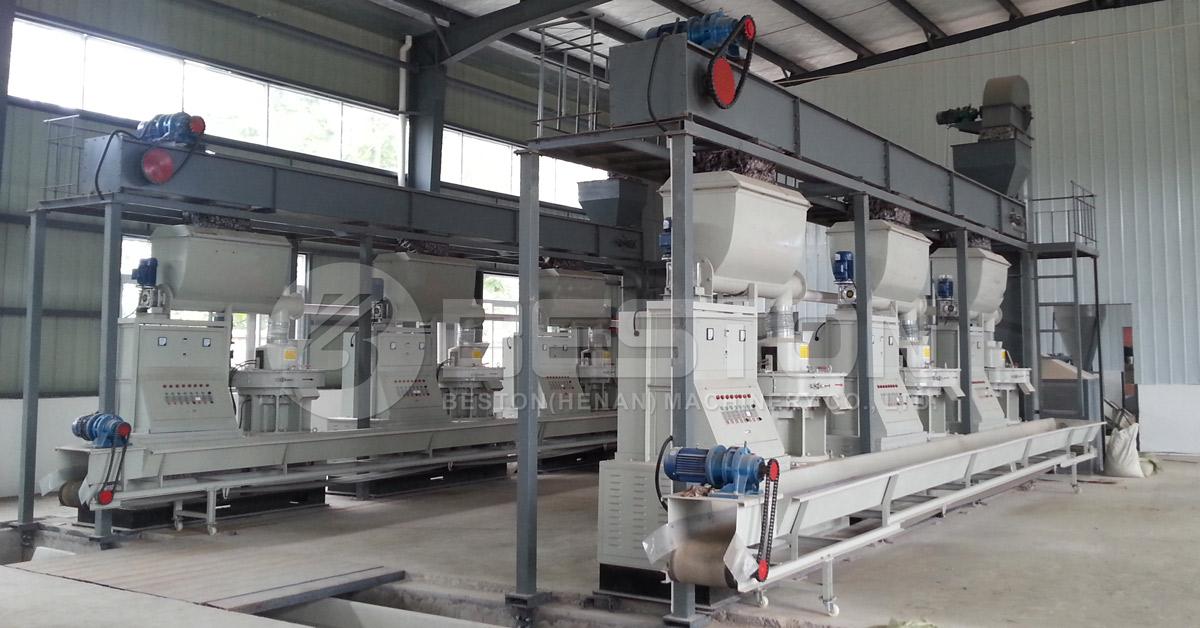 Biomass Pellet Making Machine for Sale