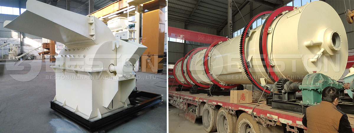 Crushing Machine at Drying Machine