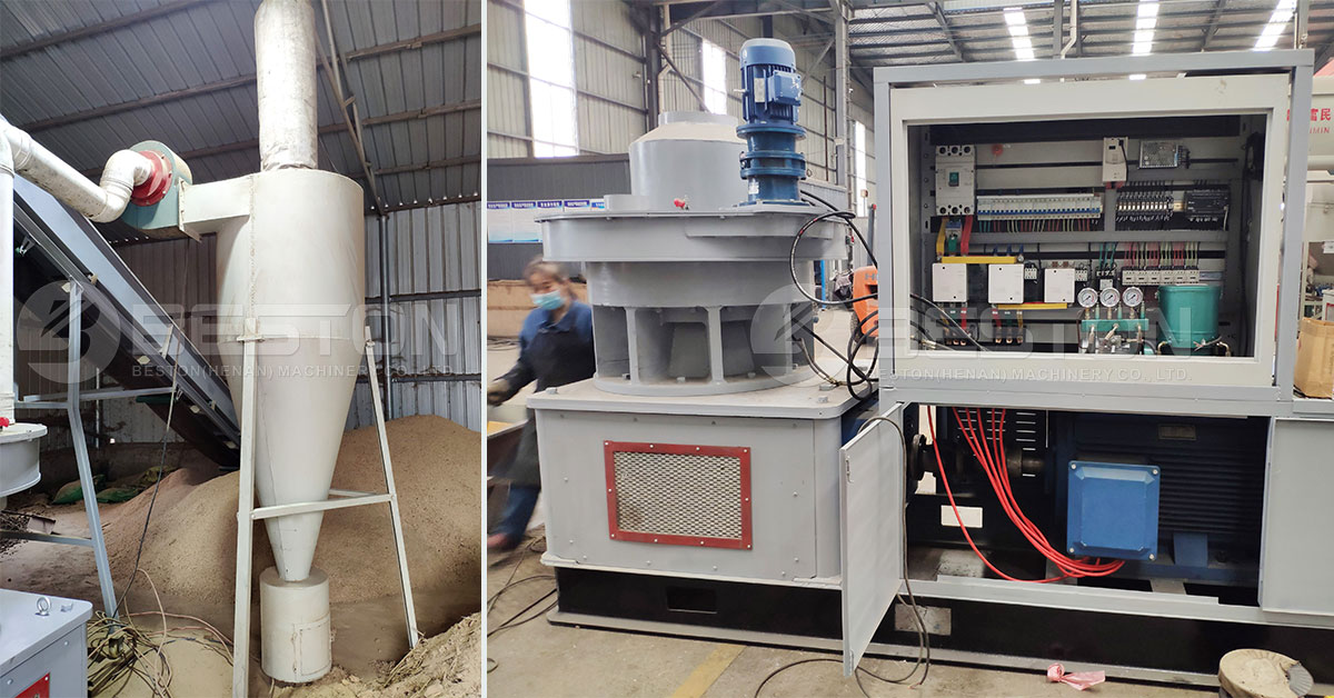 Cyclone and Pellet Making Machine for Sale