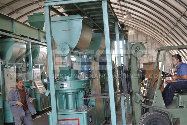 Pellet Making Mill in America