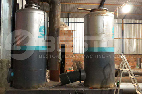 Pyrolysis Dedusting System