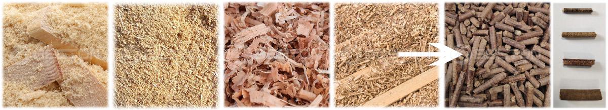 Sawdust Wood Pellets