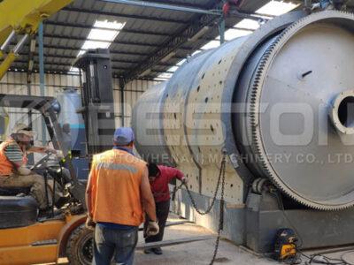 Beston Pyrolysis Machine Installed in Chile