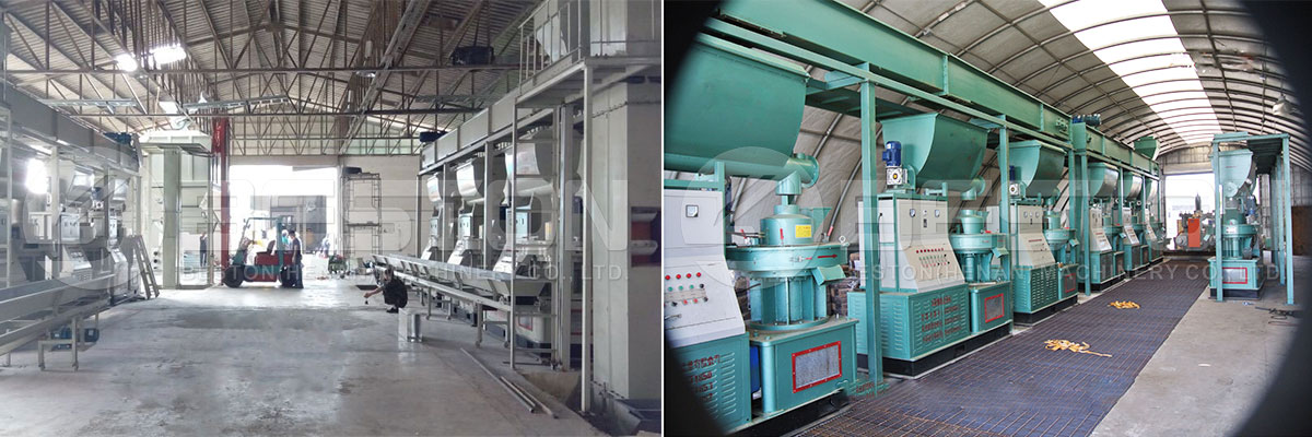 Wood Pellet Making Mill in the Thailand and America