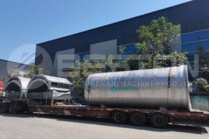 BLJ-16 Waste Pyrolysis Equipment Shipped to Egypt