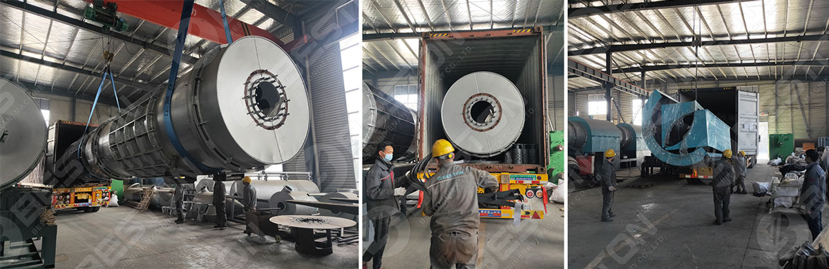 Coconut Shell Charcoal Making Machine Shipped to Mexio