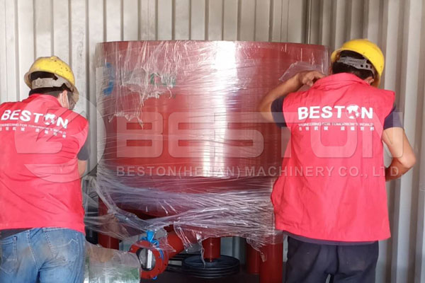 Egg Tray Making Machine Shipped to the Philippines