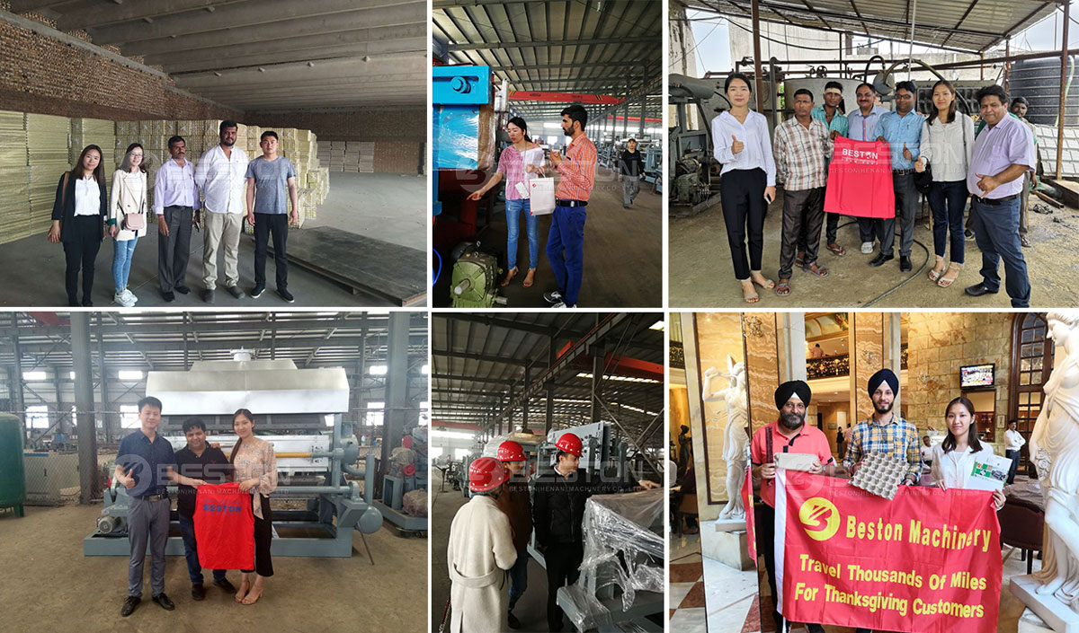 Indian Customers Visits