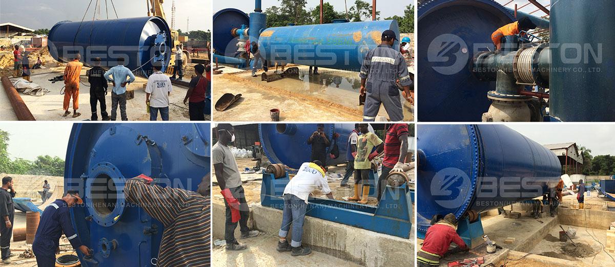 Project ng Sludge ng Pyrolysis Plant ng langis sa Nigeria
