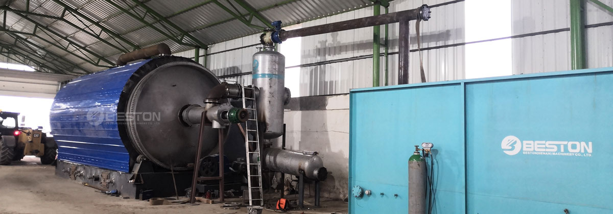 Oil Sludge Pyrolysis Recycling Plant