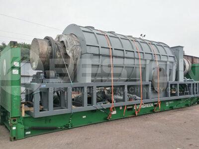 Машина для производства древесного угля из пальмового ядра отправлена в Малайзию