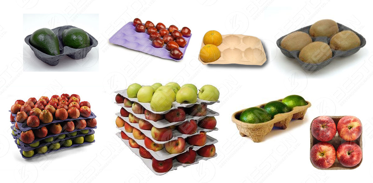 Papieren fruitbakken