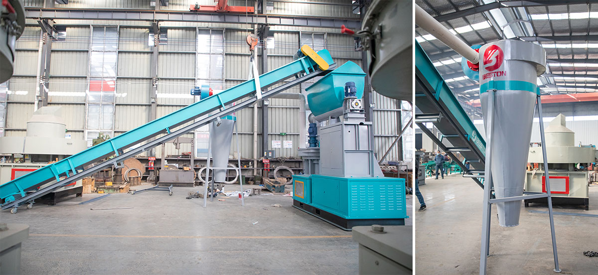 Parts of Pellet Making Machine
