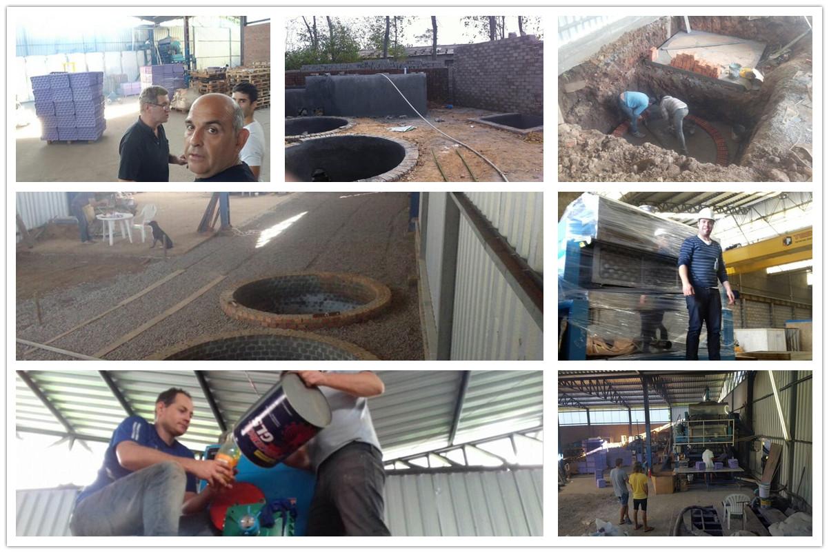 Beston Apple Tray Making Machine Installed in Brazil