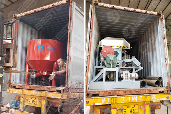 Beston Egg Tray Machine Shipped to Mozambique