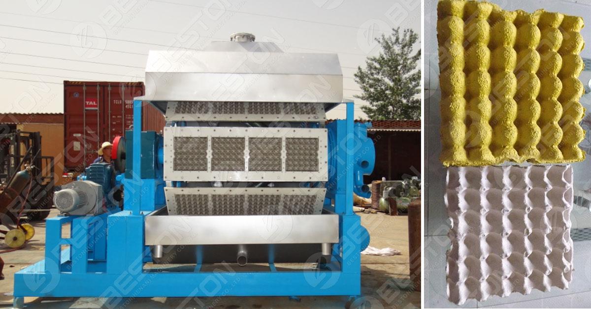 Beston Egg Tray Machine in Pakistan