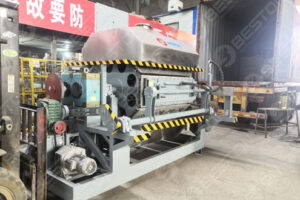 Beston Egg Tray Making Machine Shipped to Mozambique