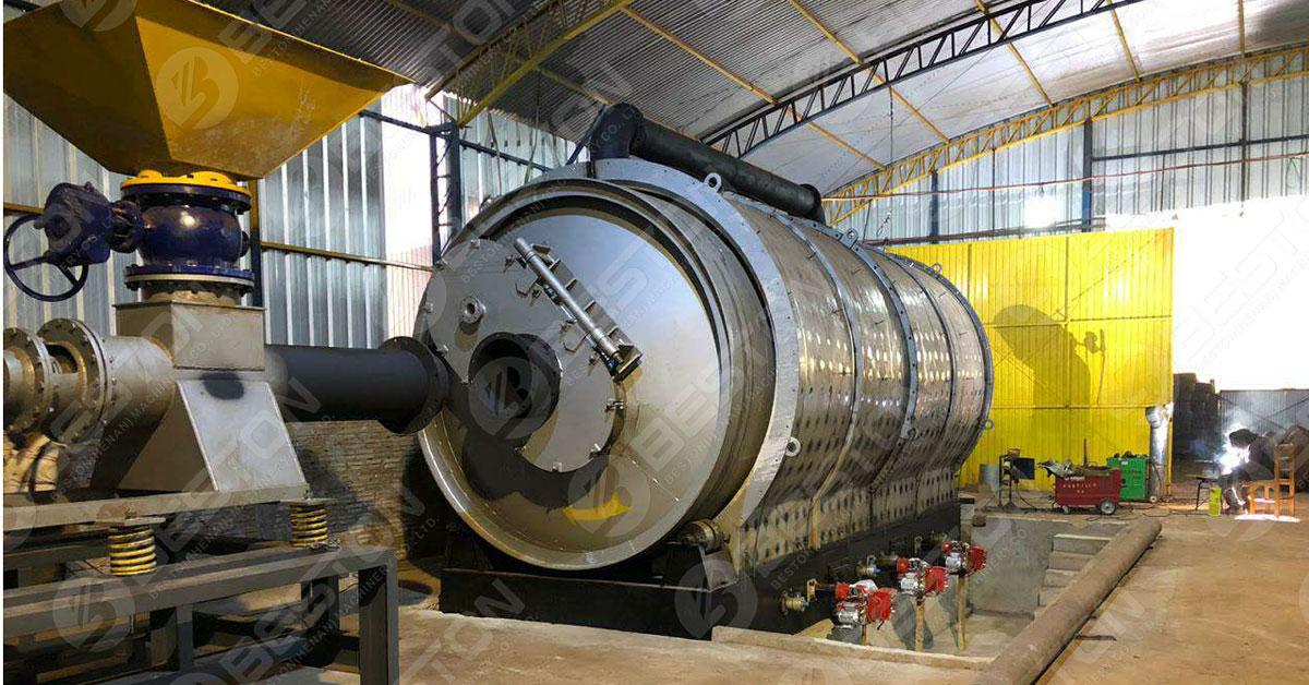 Beston Pyrolysis Plant Sold to UK