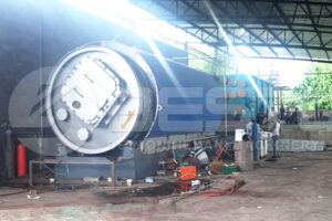 Beston Tyre Pyrolysis Machine Installed in Zimbabwe