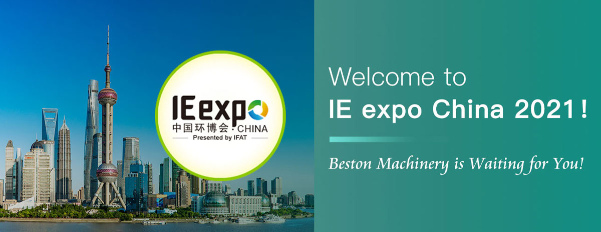 Beston Will Attend IE Expo China