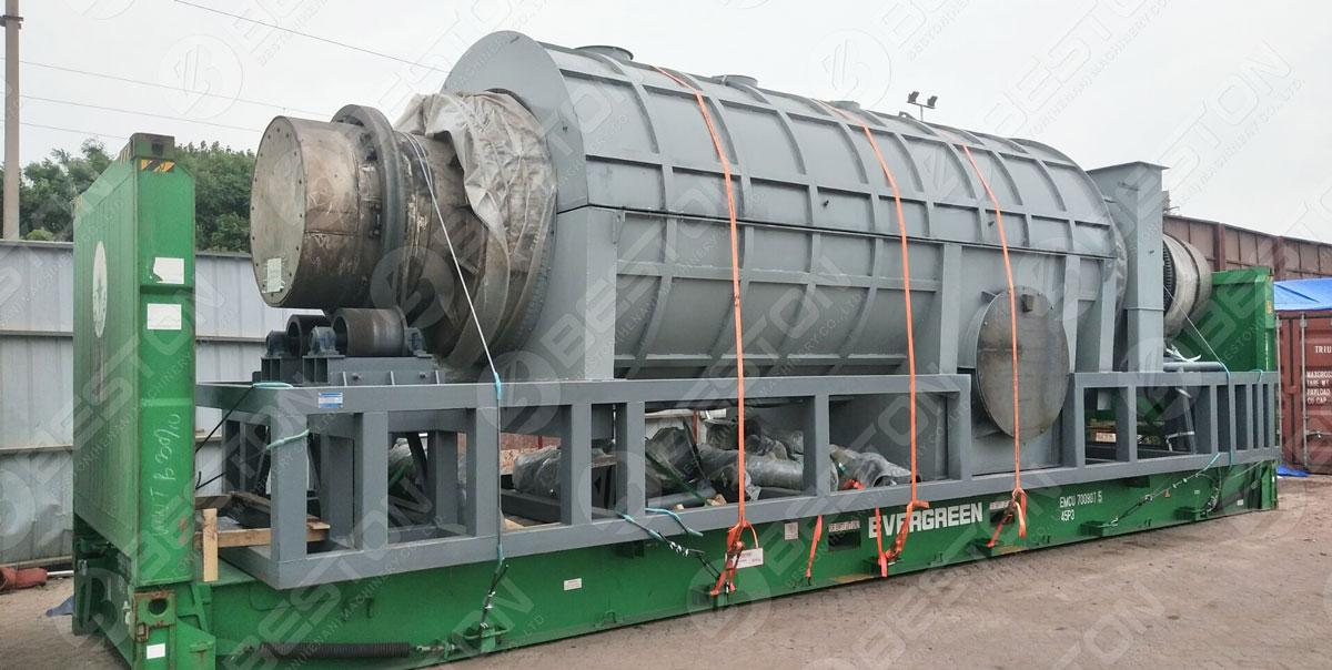 Biochar Equipment Shipped to Malaysia