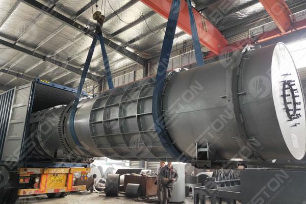 Biochar Machine Shipped to Malaysia