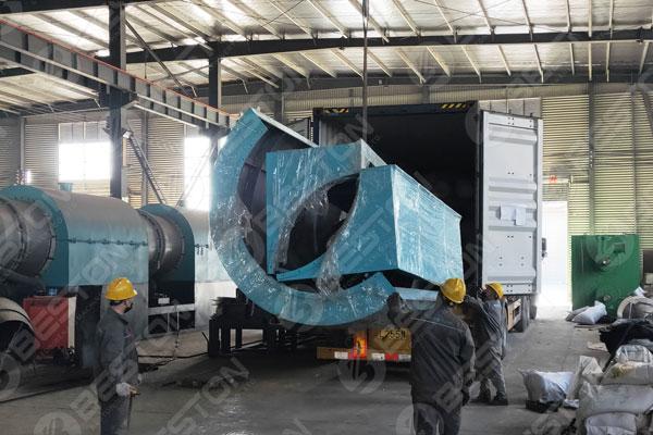 Continuous Biochar Equipment Shipped to Mexio